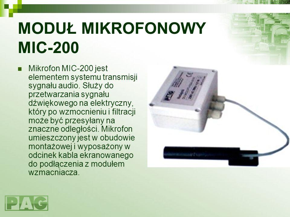 MODUŁ MIKROFONOWY MIC-200