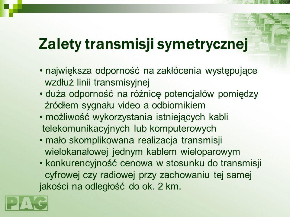 Zalety transmisji symetrycznej