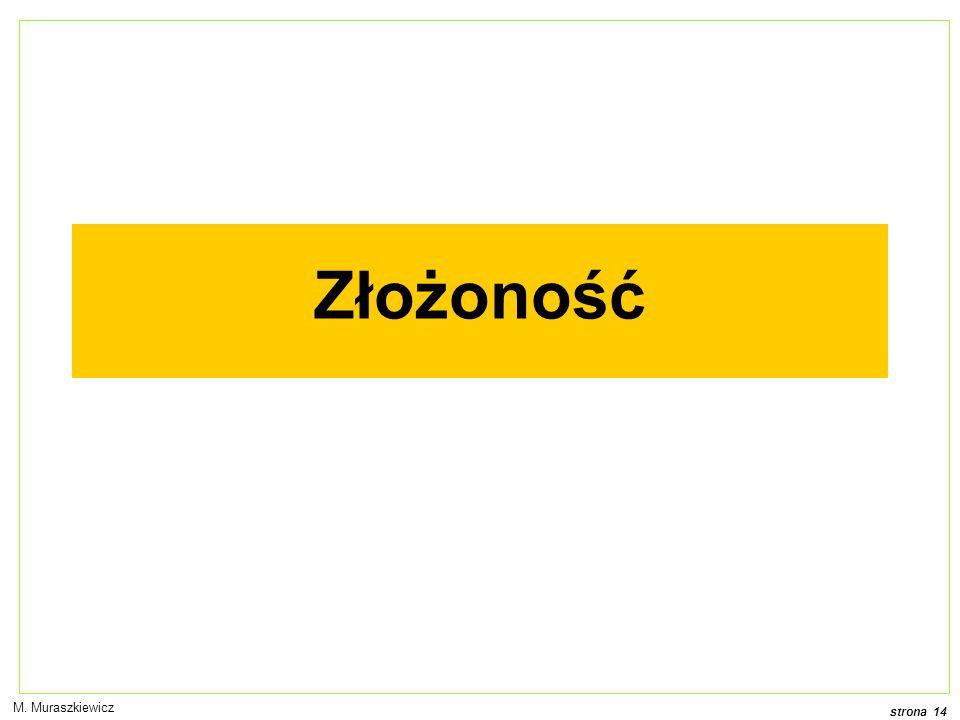 Złożoność M. Muraszkiewicz