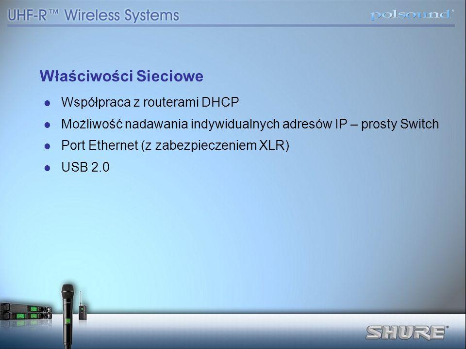 Właściwości Sieciowe Współpraca z routerami DHCP