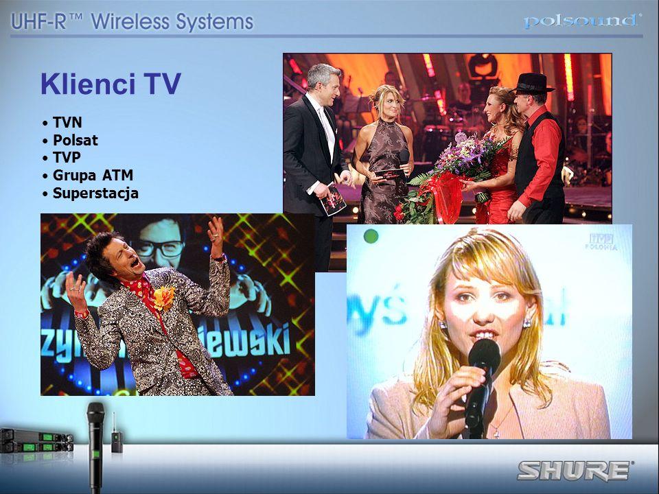 Klienci TV TVN Polsat TVP Grupa ATM Superstacja