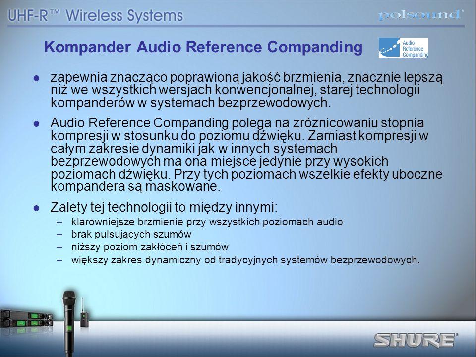Kompander Audio Reference Companding
