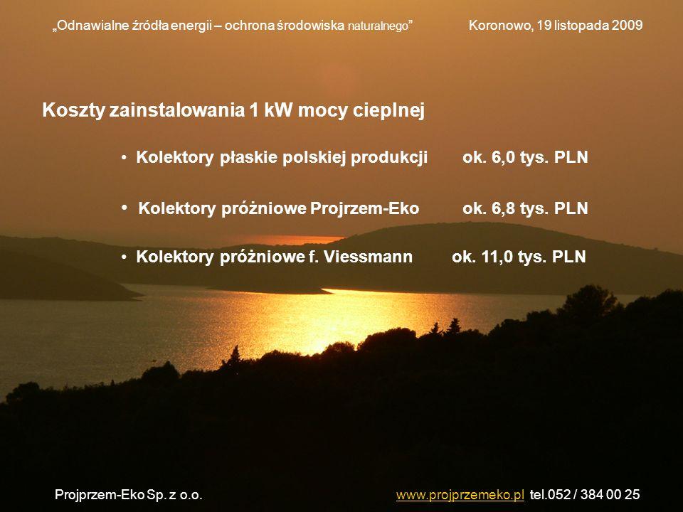Projprzem-Eko Sp. z o.o. www.projprzemeko.pl tel.052 / 384 00 25