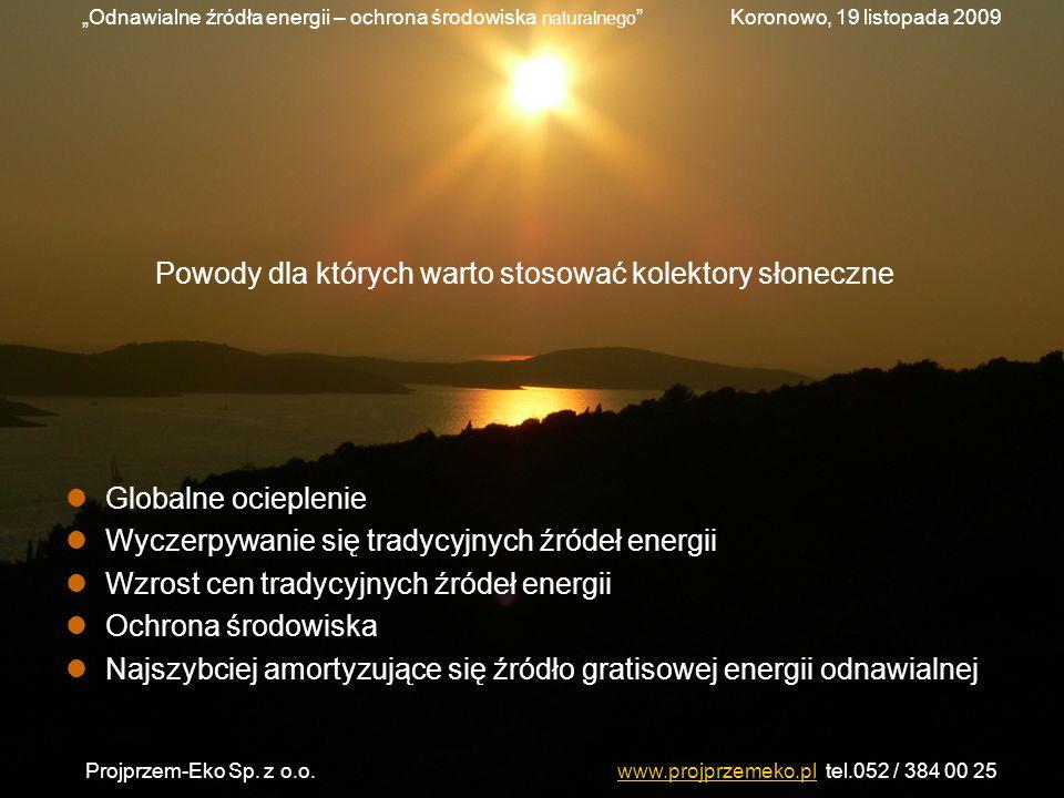 Powody dla których warto stosować kolektory słoneczne