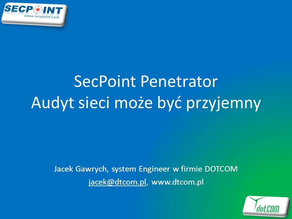 SecPoint Penetrator Audyt sieci może być przyjemny