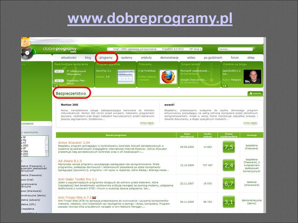www.dobreprogramy.pl