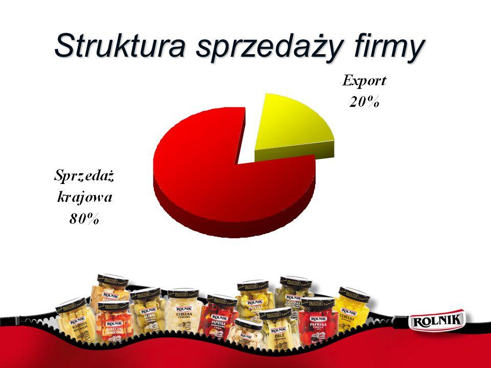 Struktura sprzedaży firmy