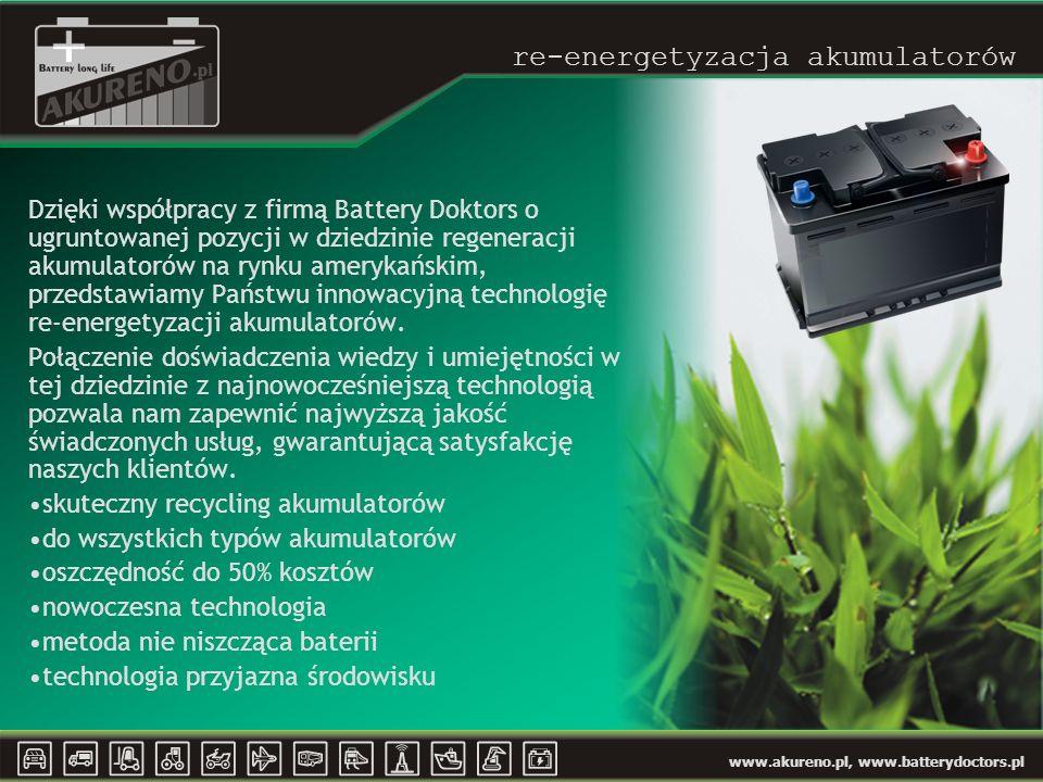re-energetyzacja akumulatorów