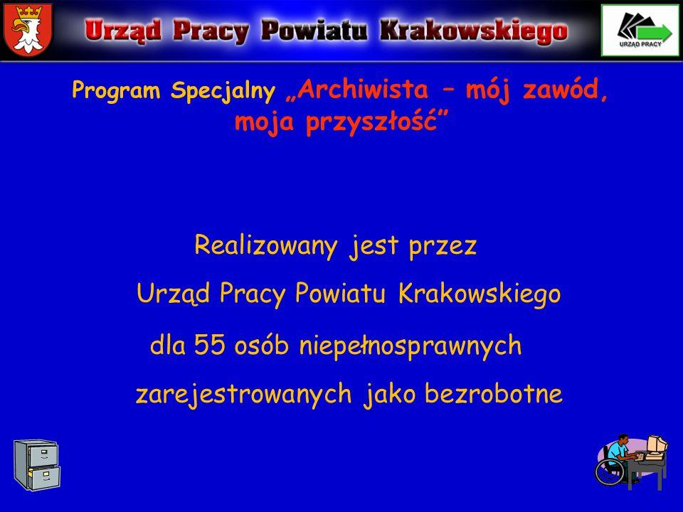 """Program Specjalny """"Archiwista – mój zawód, moja przyszłość"""