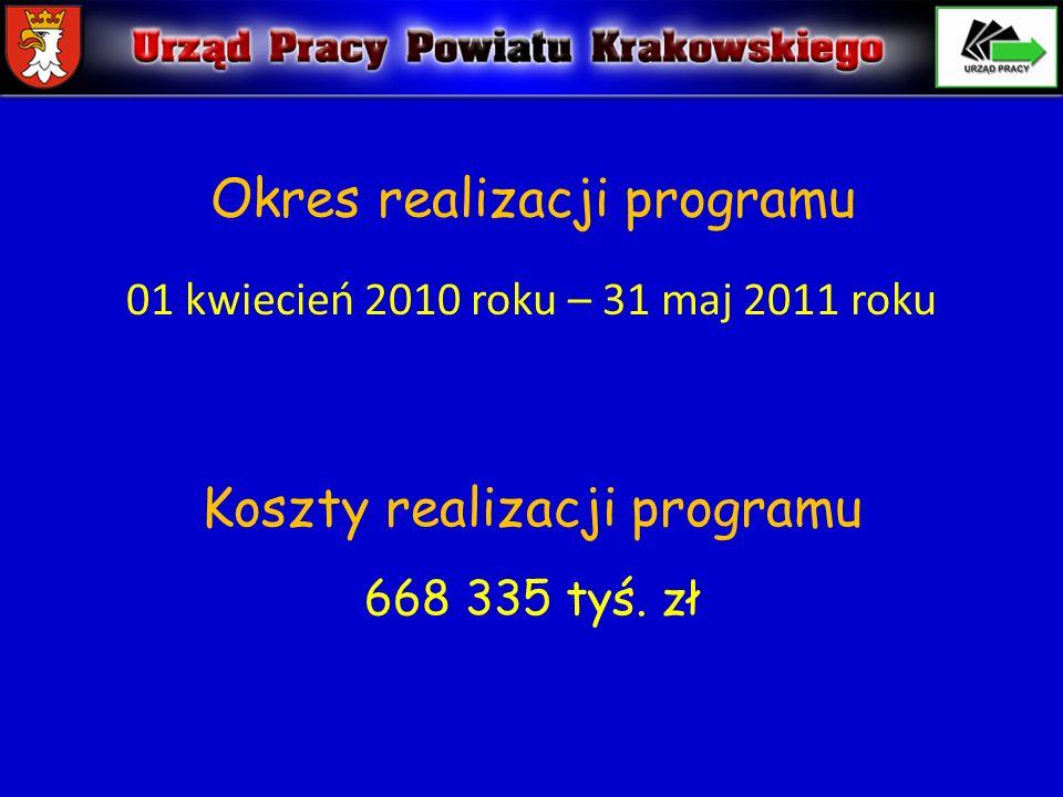 Okres realizacji programu