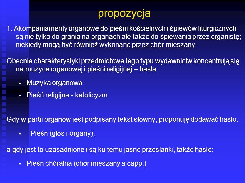 propozycja
