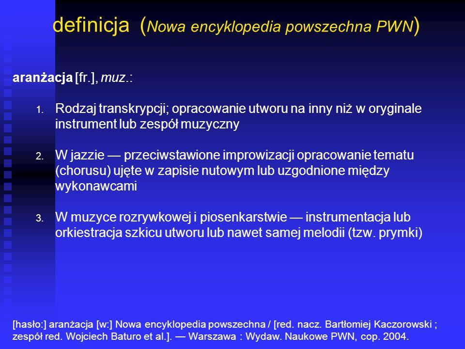 definicja (Nowa encyklopedia powszechna PWN)