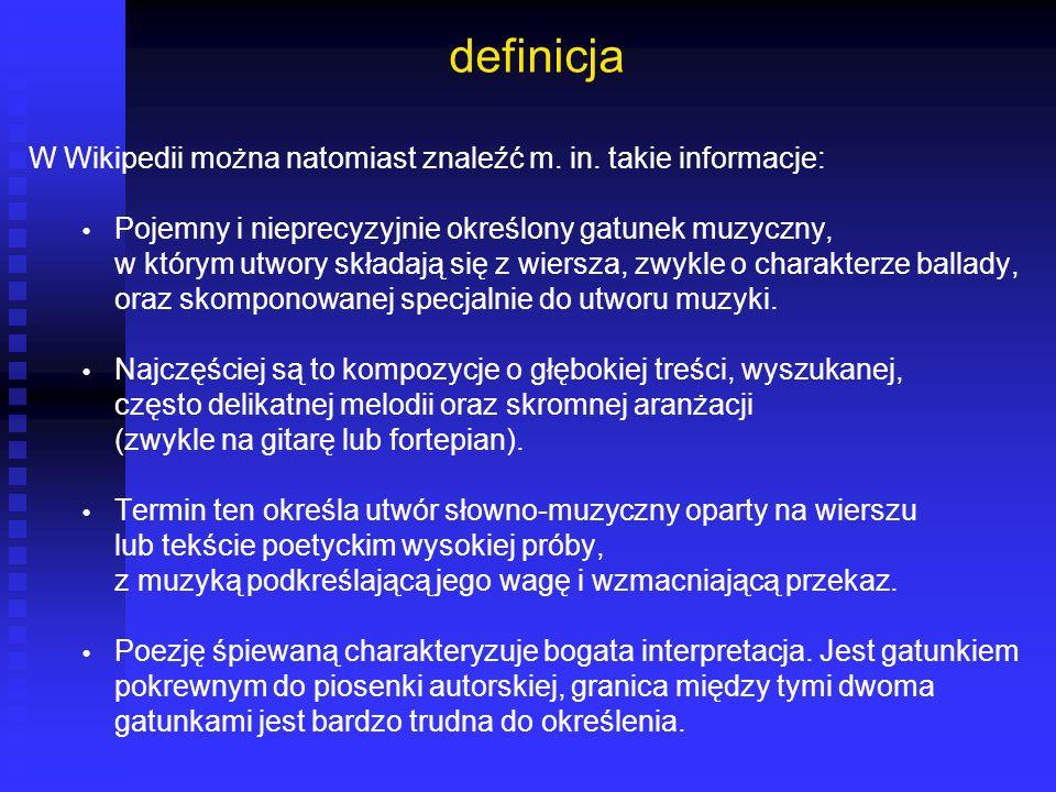 definicja W Wikipedii można natomiast znaleźć m. in. takie informacje: