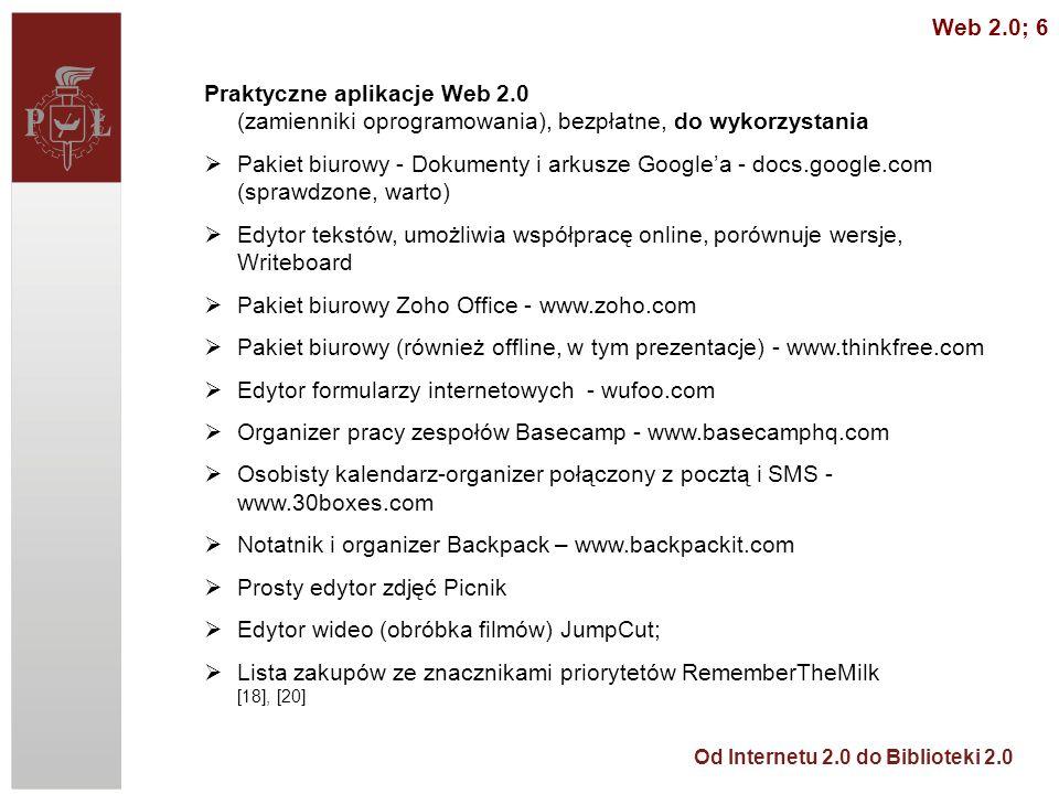 Pakiet biurowy Zoho Office - www.zoho.com