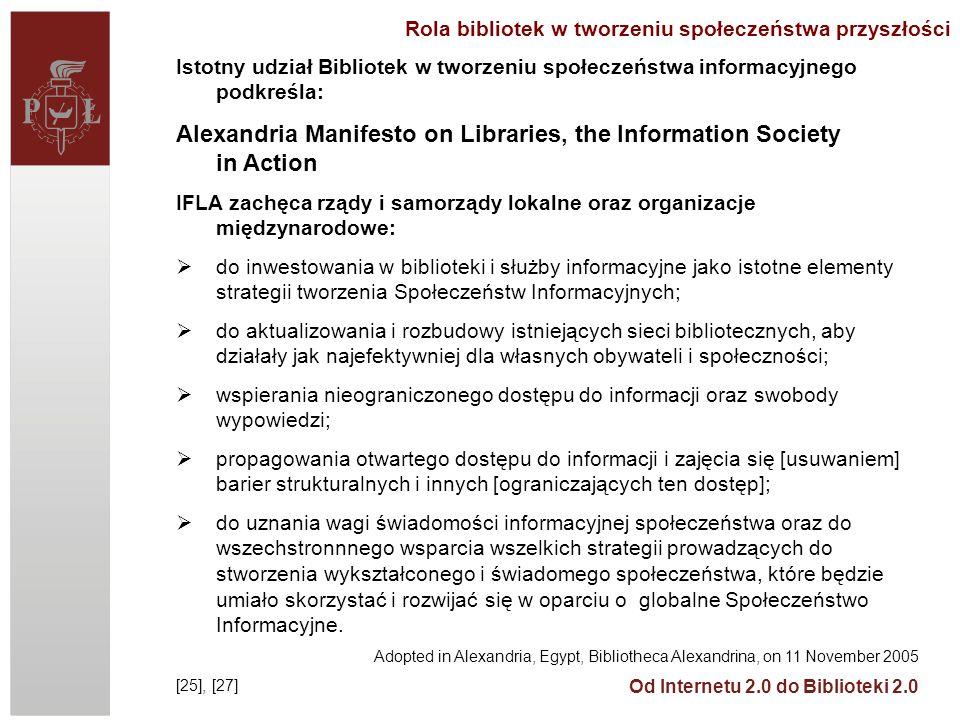 Rola bibliotek w tworzeniu społeczeństwa przyszłości