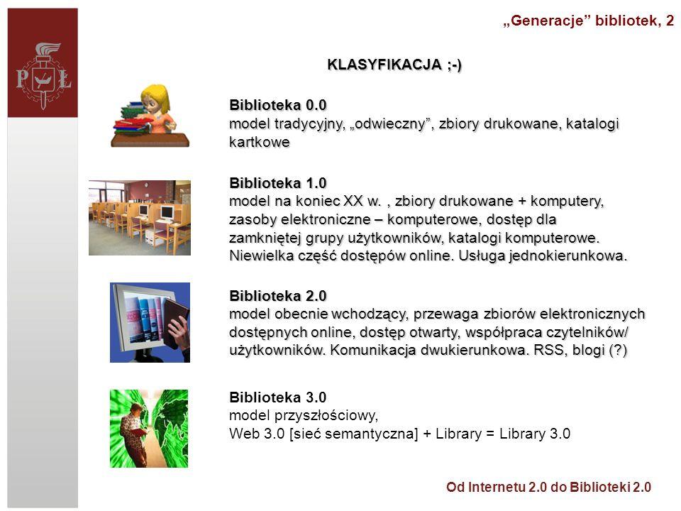"""Generacje bibliotek, 2"