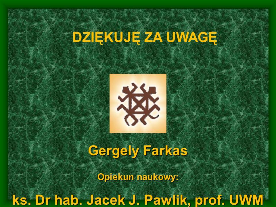 ks. Dr hab. Jacek J. Pawlik, prof. UWM
