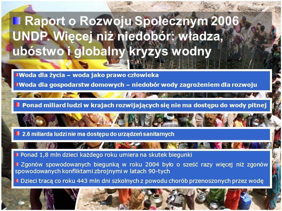 Raport o Rozwoju Społecznym 2006 UNDP