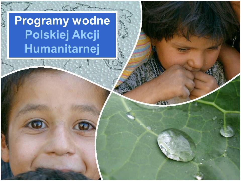 Programy wodne Polskiej Akcji Humanitarnej