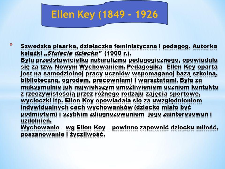 Ellen Key (1849 - 1926