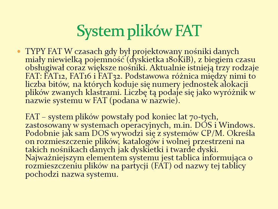 System plików FAT