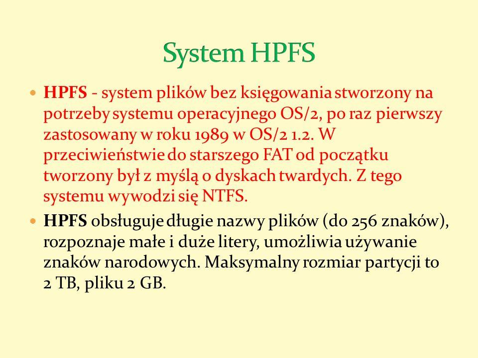 System HPFS