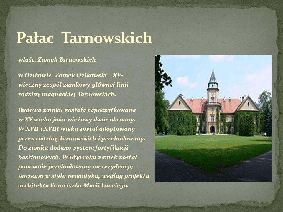 Pałac Tarnowskich właśc. Zamek Tarnowskich