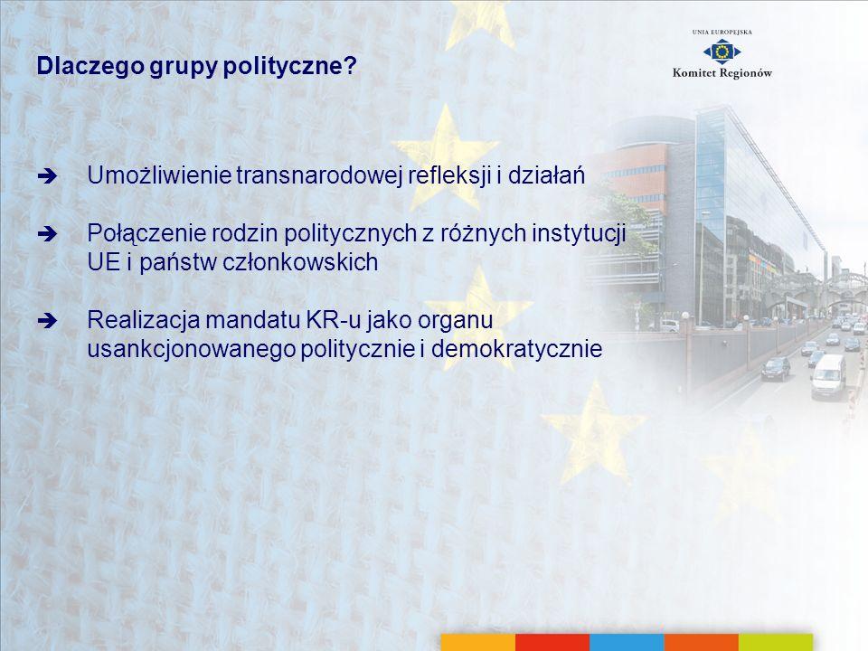 Dlaczego grupy polityczne