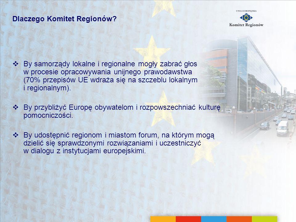 Dlaczego Komitet Regionów