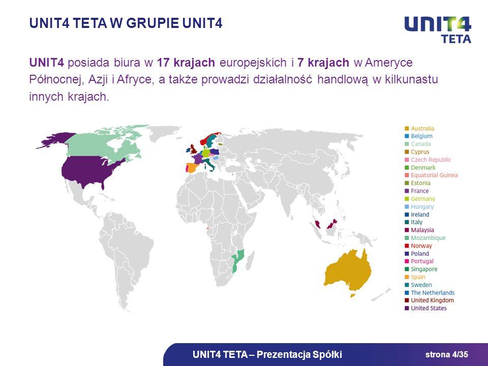 UNIT4 TETA w Grupie UNIT4
