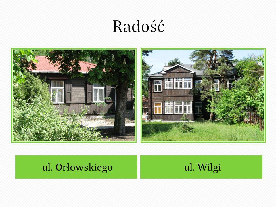 Radość ul. Orłowskiego ul. Wilgi