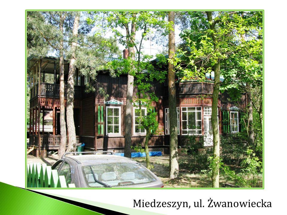 Miedzeszyn, ul. Żwanowiecka