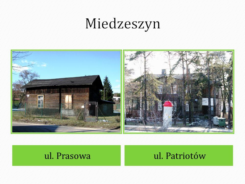 Miedzeszyn ul. Prasowa ul. Patriotów