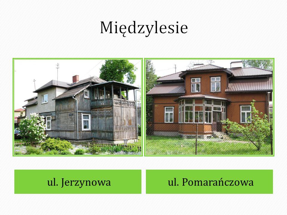 Międzylesie ul. Jerzynowa ul. Pomarańczowa