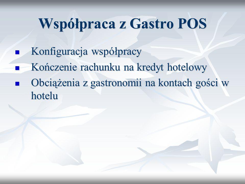 Współpraca z Gastro POS