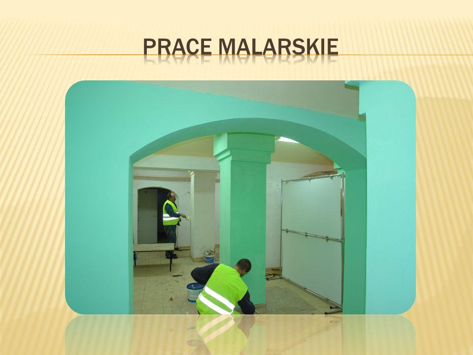 Prace malarskie