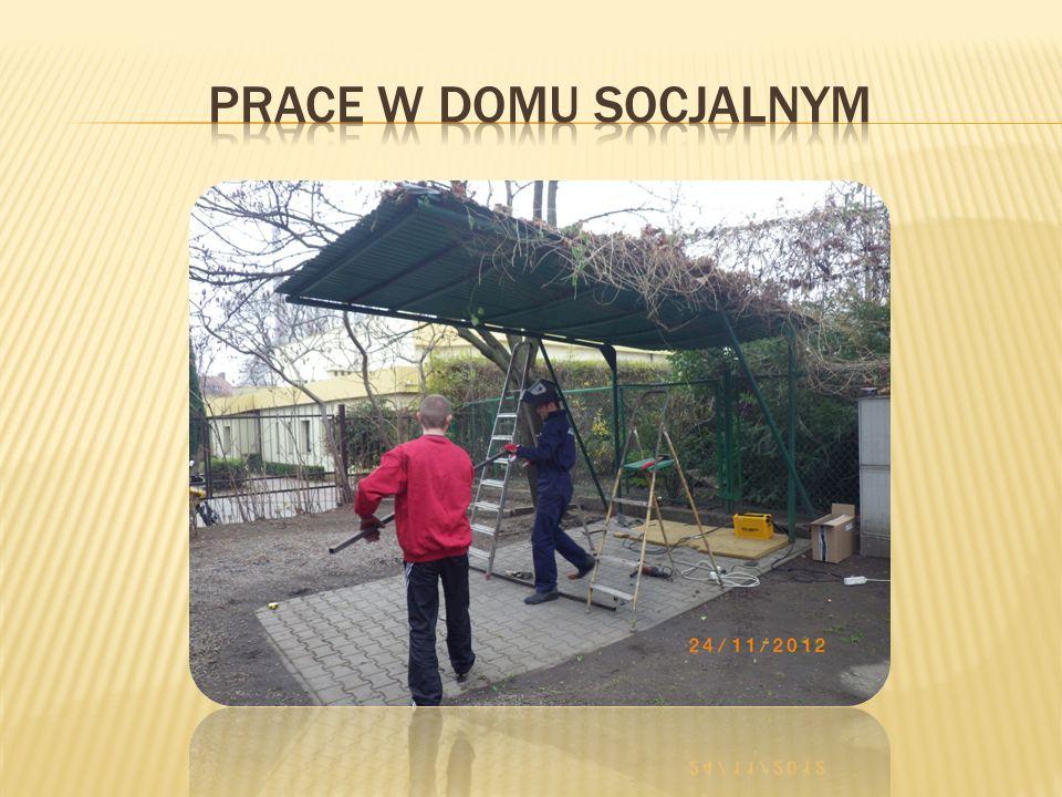 Prace w domu socjalnym
