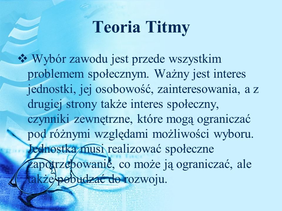 Teoria Titmy