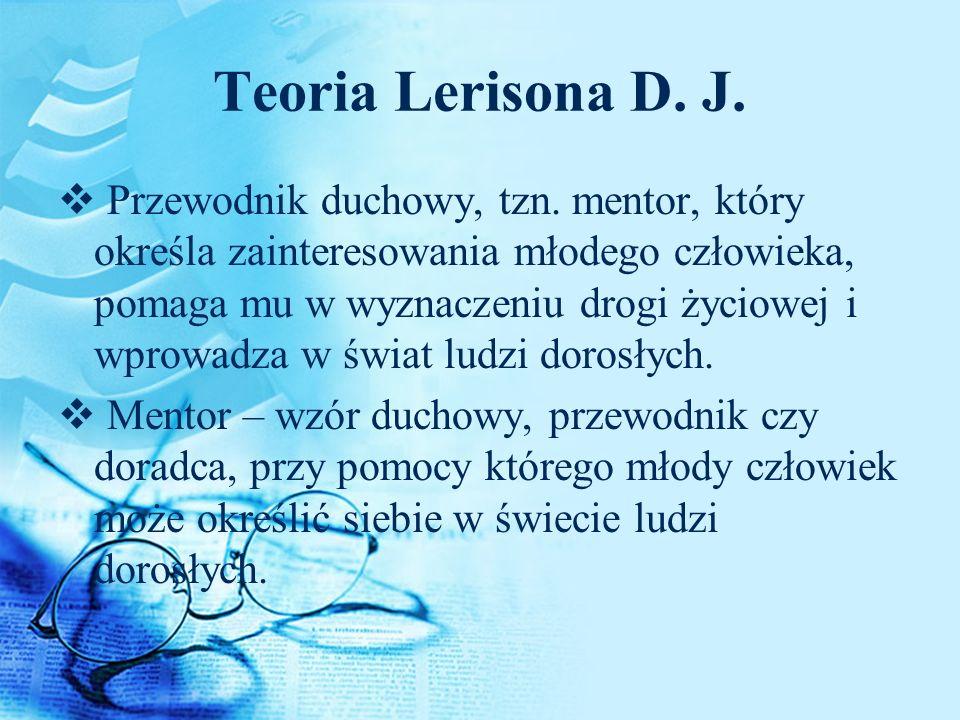 Teoria Lerisona D. J.