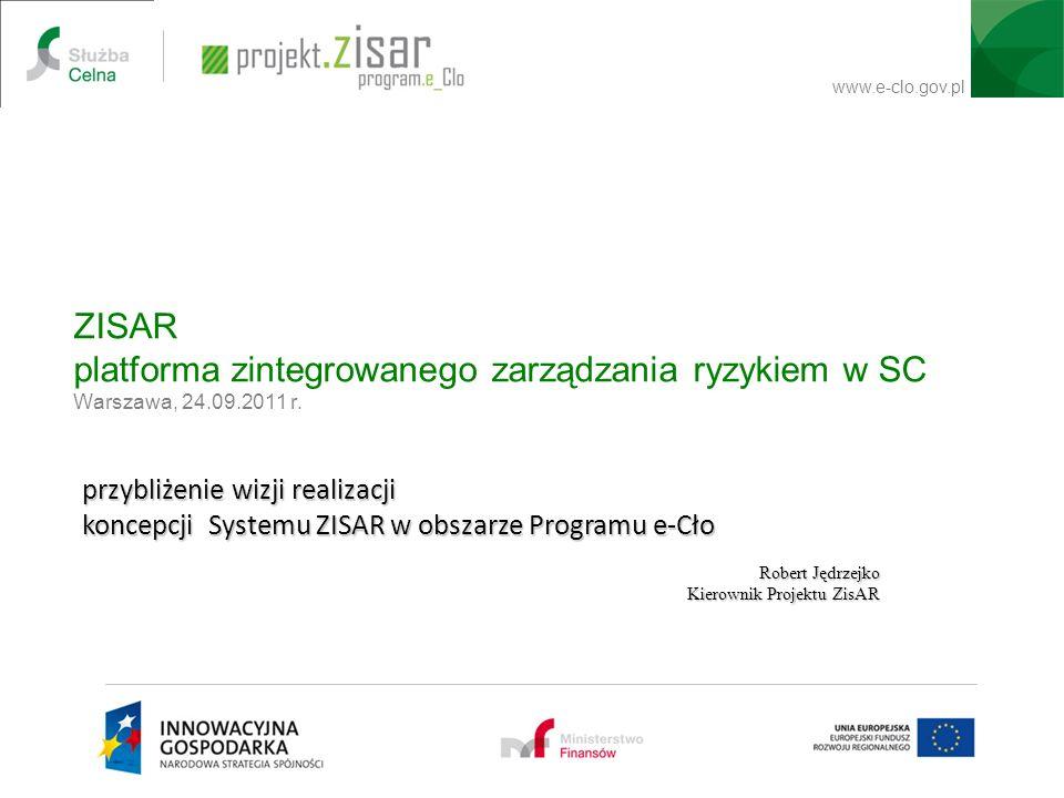 ZISAR platforma zintegrowanego zarządzania ryzykiem w SC Warszawa, 24