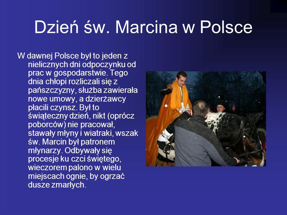 Dzień św. Marcina w Polsce