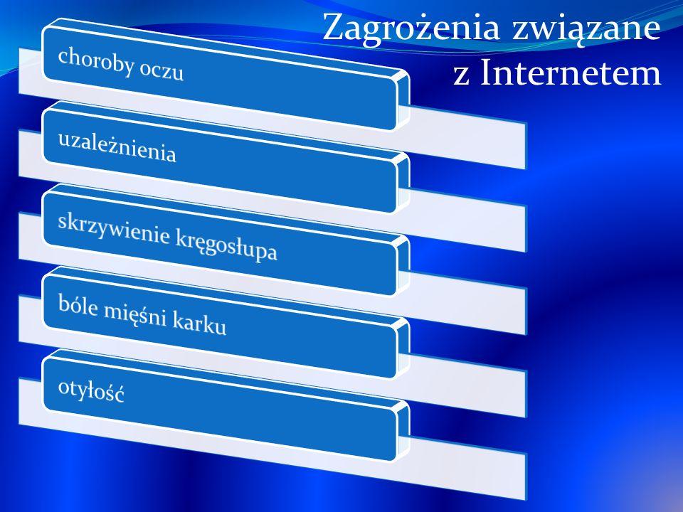 Zagrożenia związane z Internetem choroby oczu uzależnienia