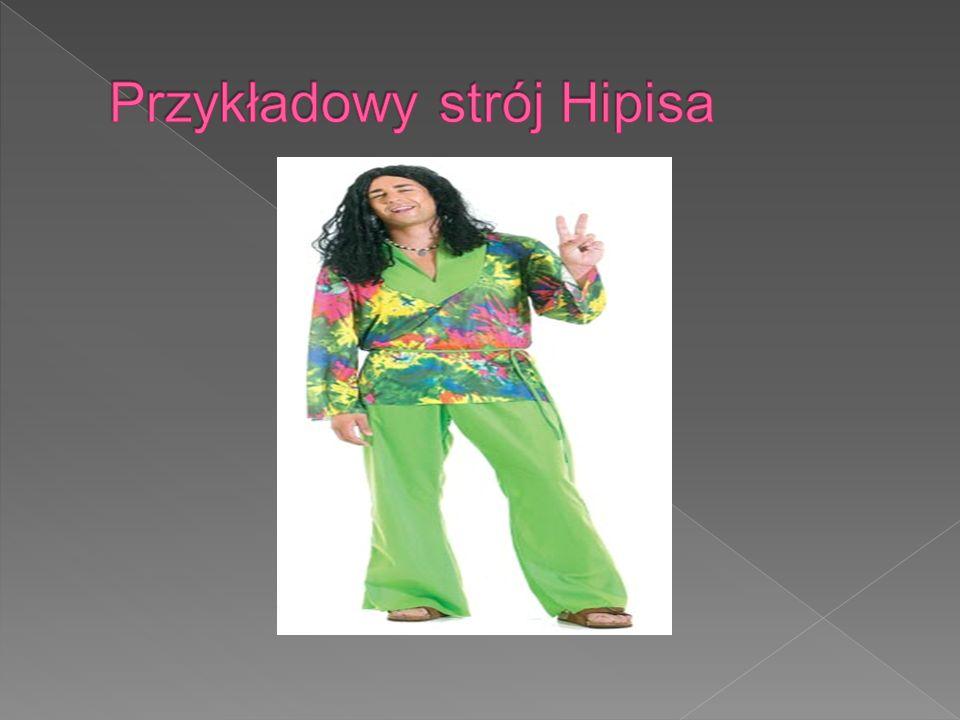 Przykładowy strój Hipisa