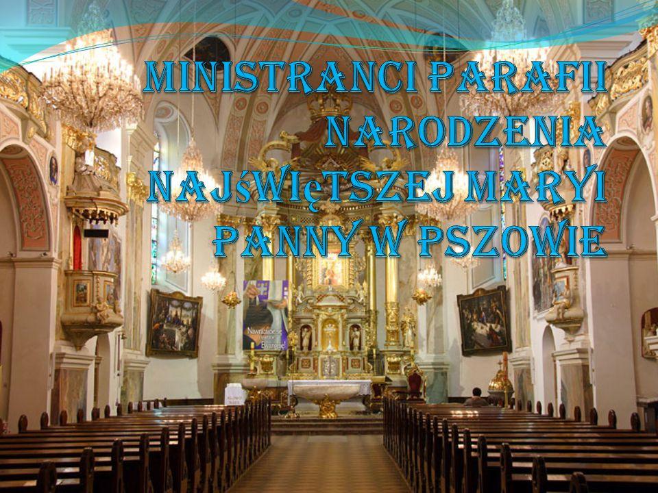 Ministranci Parafii Narodzenia Najświętszej Maryi Panny w Pszowie