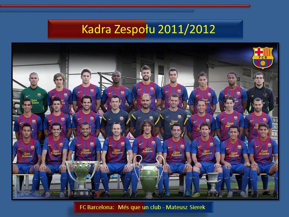 Kadra Zespołu 2011/2012