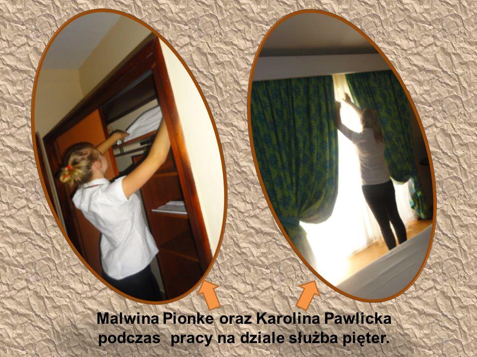 Malwina Pionke oraz Karolina Pawlicka