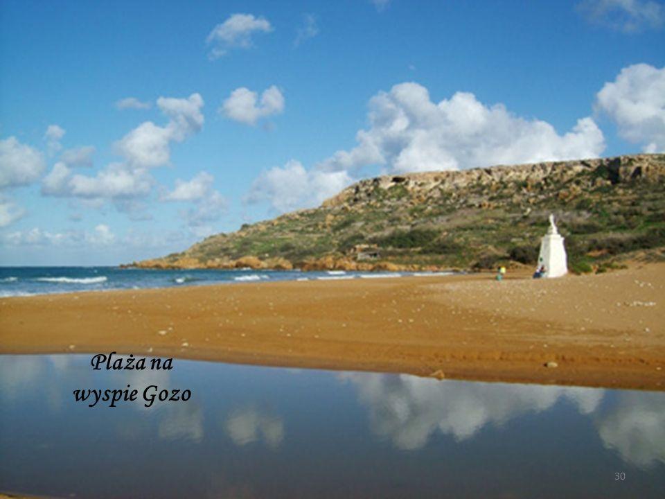 Prom, którym płynęliśmy na wyspę Gozo.