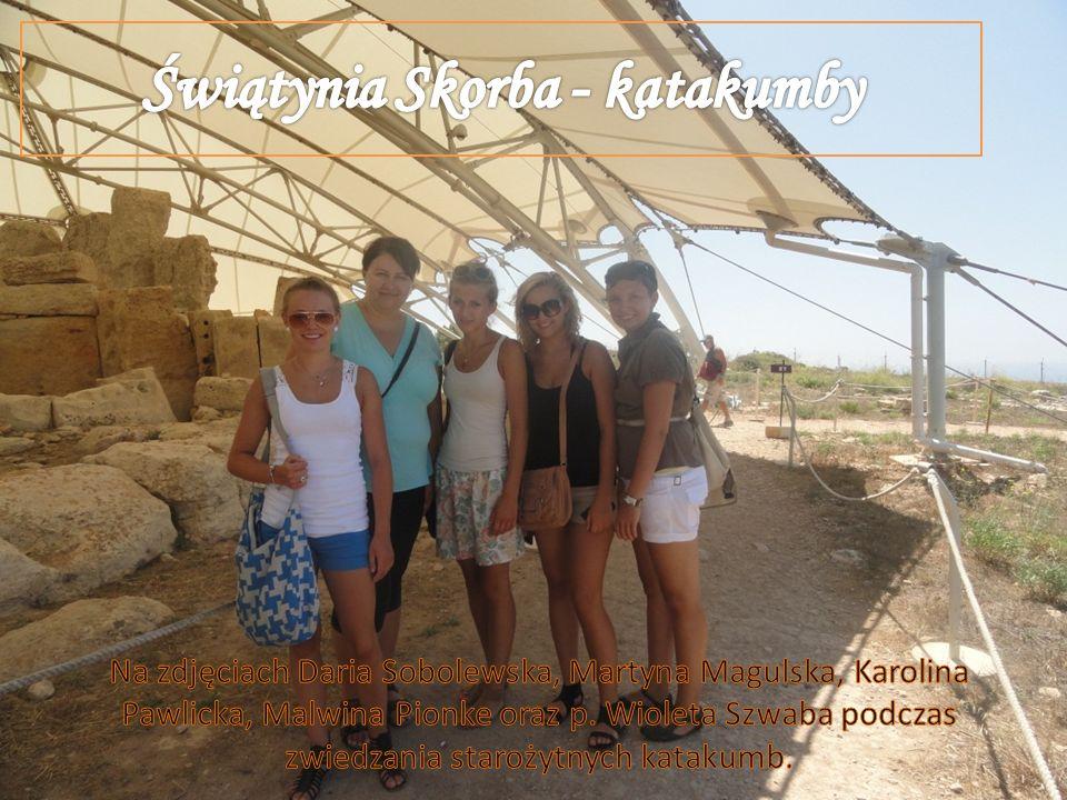 Świątynia Skorba - katakumby