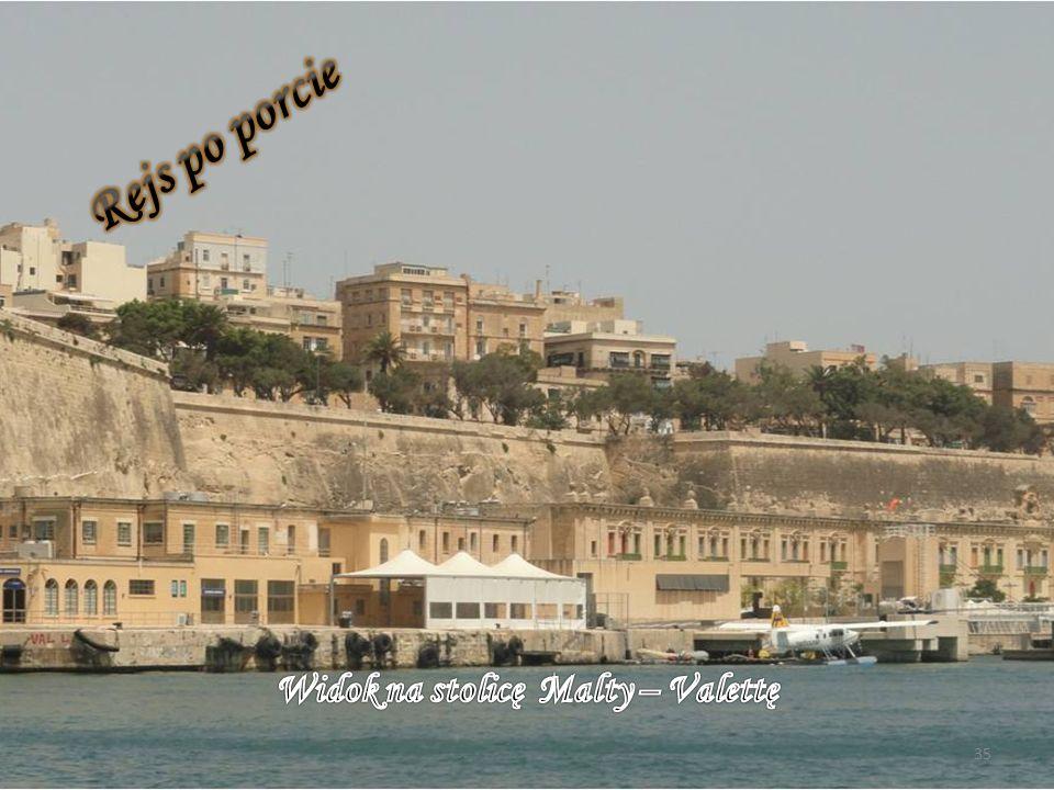 Widok na stolicę Malty – Valettę