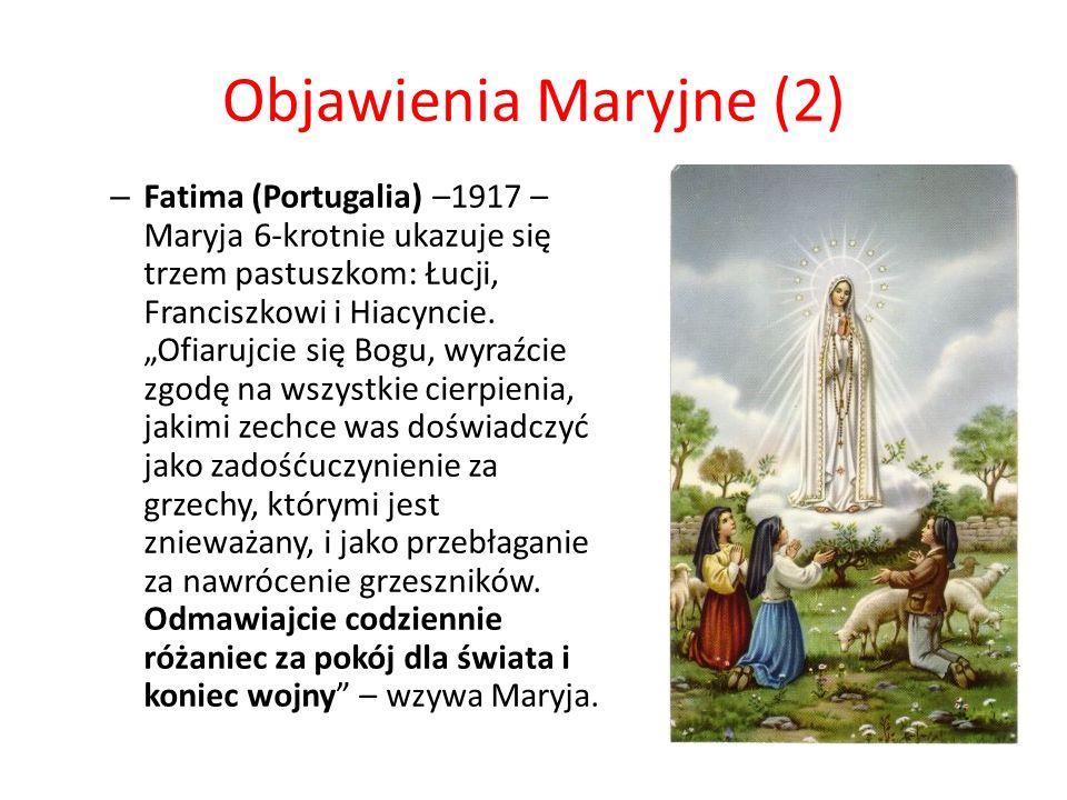 Objawienia Maryjne (2)